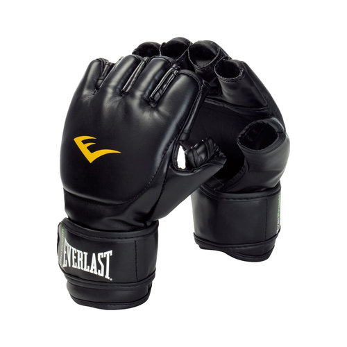 Everlast Grappling Gloves, Small, Black