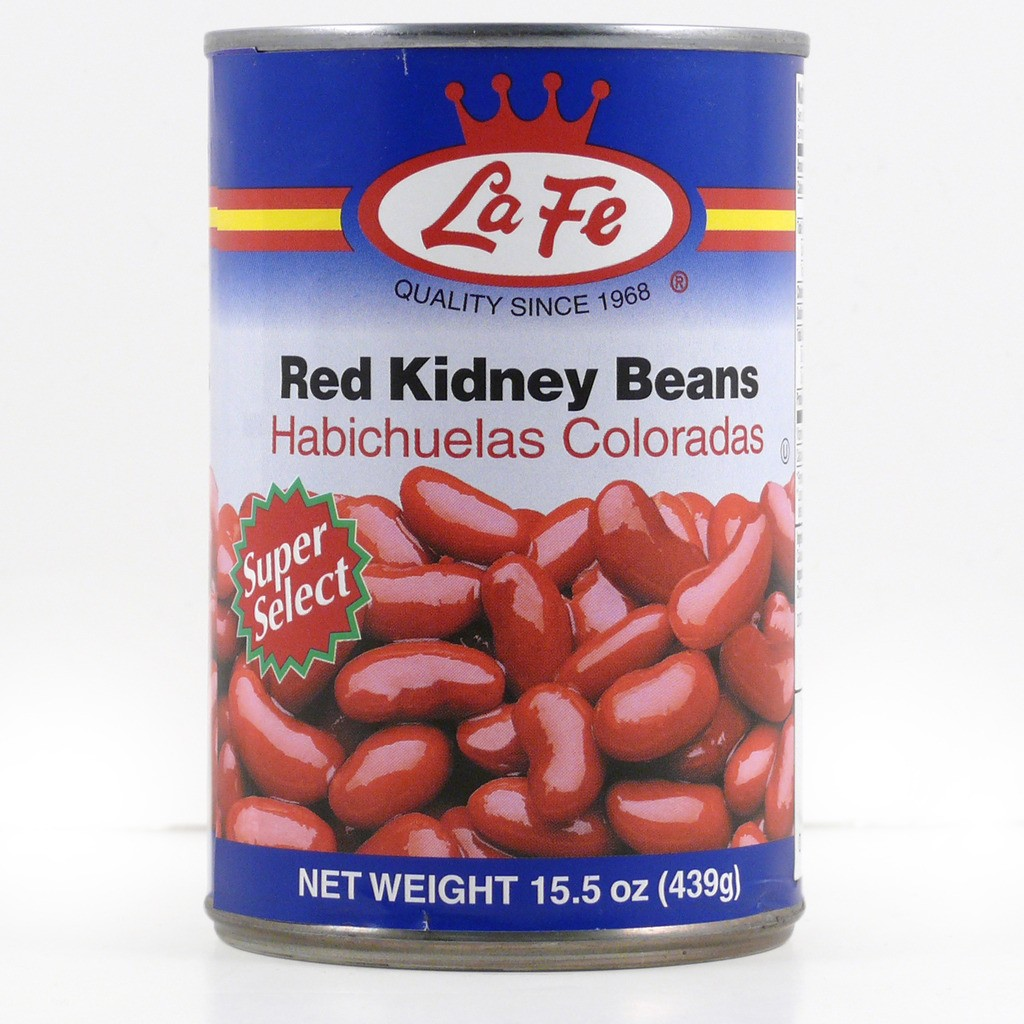La Fe Red Kidney Beanms In Water And Salt