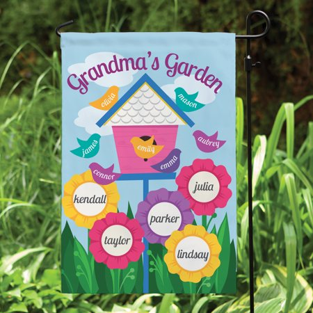 Personalized A Garden For Her Garden Flag