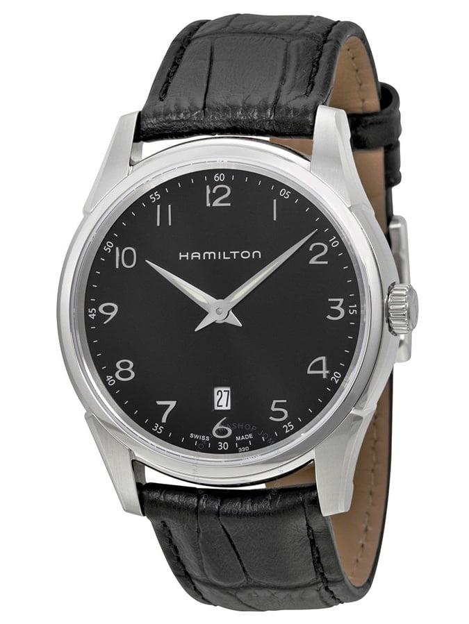 Hamilton Jazzmaster Thinline Black Dial Men's Watch H38511733