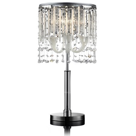 Ok Lighting Fairy Mist Crystal Table Lamp