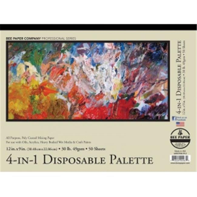 12 x 9 in. Disposable Palette Pad