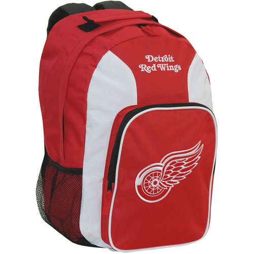 Southpaw Backpack NHL Red - Detroit Red Wings