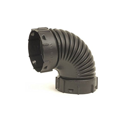 "ADVANCED DRAINAGE SYSTEMS 0490AA 4"" 90DEG Drain Elbow"