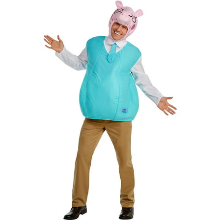 Peppa Pig - Daddy Pig Classic Adult Costume (Pig Halloween)