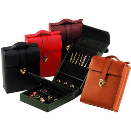 Pocketbook Jewelry Case - 6W X 4.75H In. Black