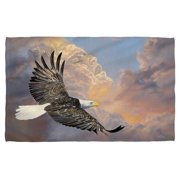 Wild Wings Majestic 2 Beach Towel White 36X58