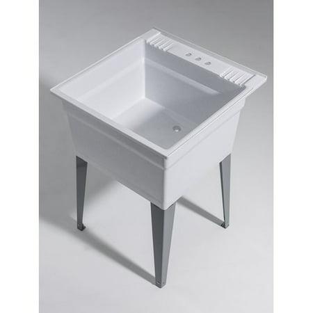 Cashel Heavy Duty 23 75 X 24 Freestanding Laundry Sink