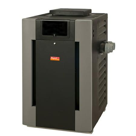 6K BTU Cupro Nickel Pool or Spa Natural Gas Heater (Raypak Electronic Pool Heater)