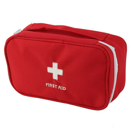 - Outdoor Camping Polyester Rectangle Emergency First Aid Medic Rescue Bag Red