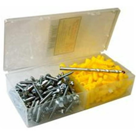 Morris Products 31030 Super Yellow Anchor Kits Pan Head 10 X 1.2 5 In. - image 1 of 1