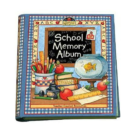 School Memory Album : A Collection of Special Memories, Photos, and Keepsakes from Kindergarten Through Sixth Grade