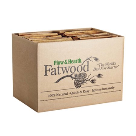 Easy-Start Fatwood Fire Starter, 30 lb. Box of Fatwood ()