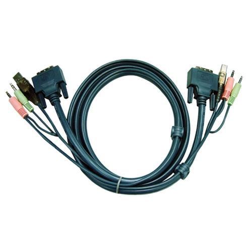 Aten DVI KVM Cable - 9.84ft
