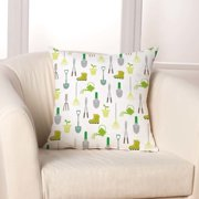 Checkerboard, Ltd Garden Lovers Throw Pillow