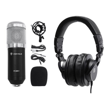- Presonus HD9 Pro Closed-back Studio Reference Monitoring Headphones+Microphone