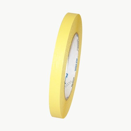 Shurtape CP-631 Colored Masking Tape: 1/2 in. x 60 yds. (Yellow)