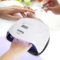 FAGINEY 80W UV/LED Nail Dryers Timing Sensor for Curing Gel Polish Nail Art Tools, Nail Art Dryer, Nail LED Curing Lamp