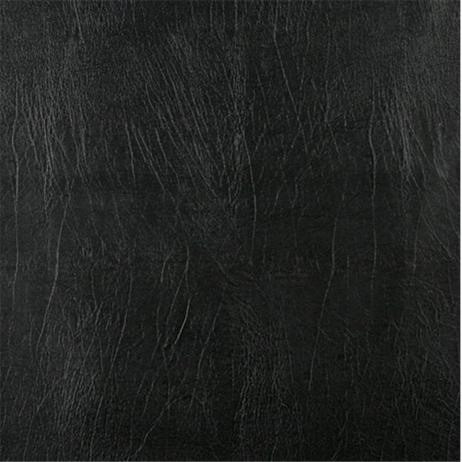 Designer Fabrics G729 54 in. Wide , Black, Solid Outdoor Indoor Marine Vinyl Fabric