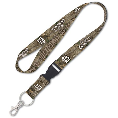 St. Louis Cardinals WinCraft Realtree Camo Buckle Lanyard - No Size