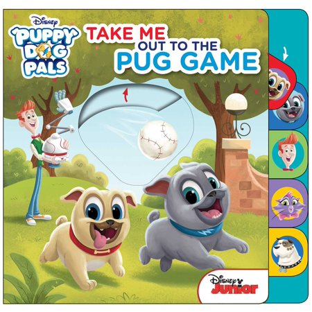 Take Me Out to the Pug Game (Board Book)