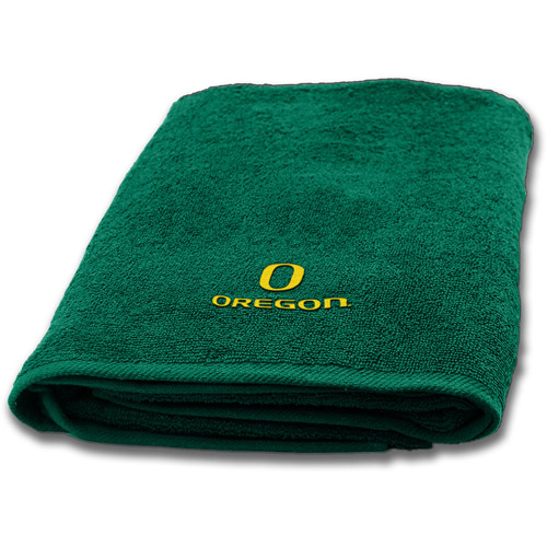 NCAA Applique Bath Towel, Oregon