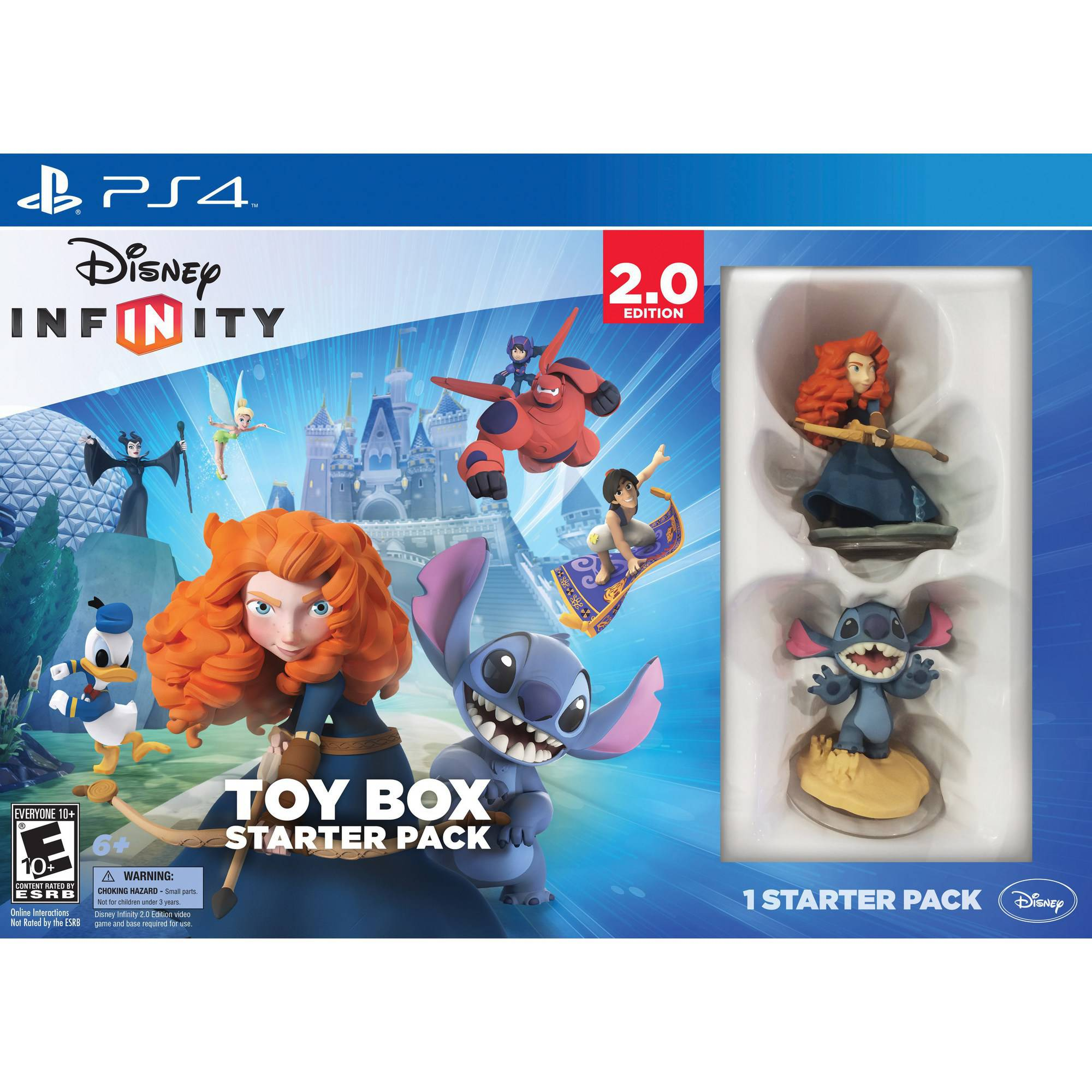 Disney Infinity: Disney Originals (2.0 Edition) Toy Box Starter Pack (PS4)