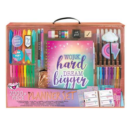 Work Hard Dream Bigger 2000+pc Undated Planner Set Holiday Gift Bundle