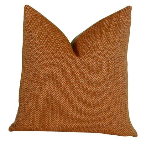 "Plutus Lone Oak Cayenne Handmade Throw Pillow, (Double sided 24"" x 24"") - image 1 de 1"