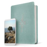 Filament Bible NLT (LeatherLike, Eucalyptus/Copper) : The Print+Digital Bible