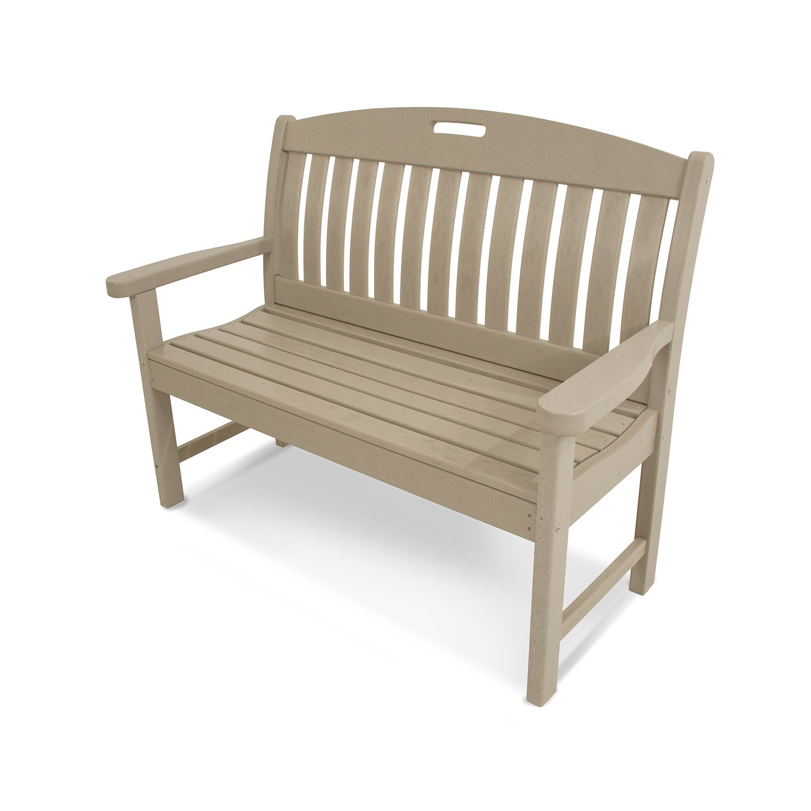 POLYWOOD® Nautical Recycled Plastic Park Bench