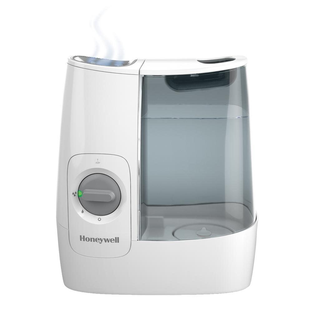 Honeywell 1 Gallon Filter Free Warm Mist Humidifier HWM845W, White