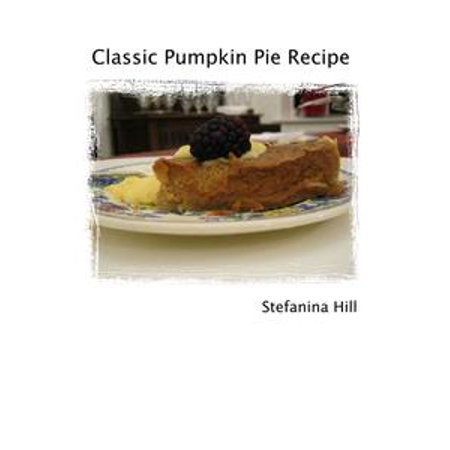 Pumpkin Pie Recipe - eBook - Halloween Pumpkin Pie Recipe