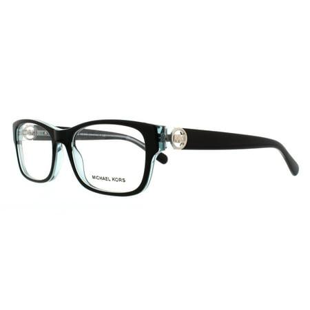 c35b48acdf5f MICHAEL KORS Eyeglasses MK 8001 3001 Black Blue 53MM - Walmart.com