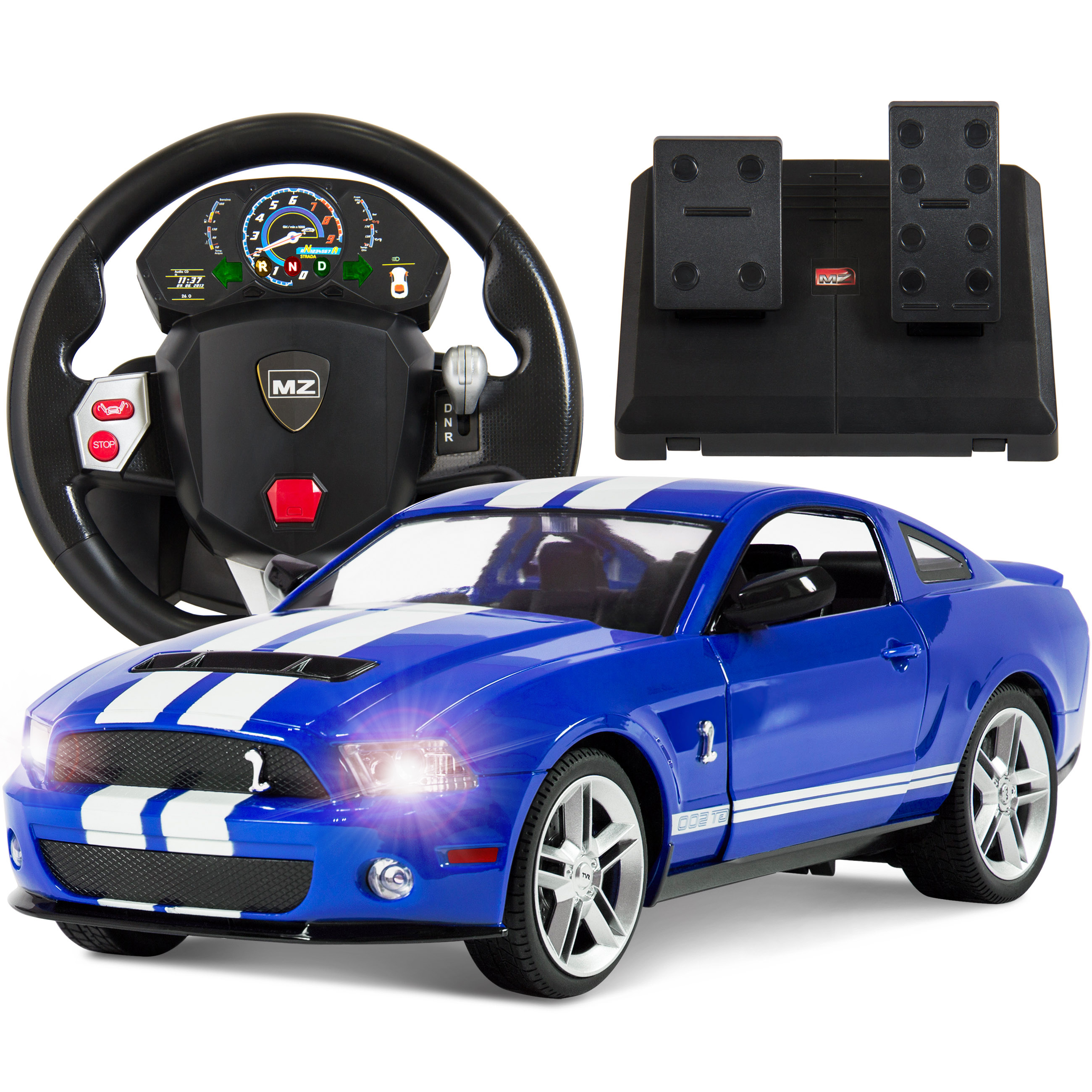 Best Choice Products 1/14 Scale RC Ford Mustang Realistic