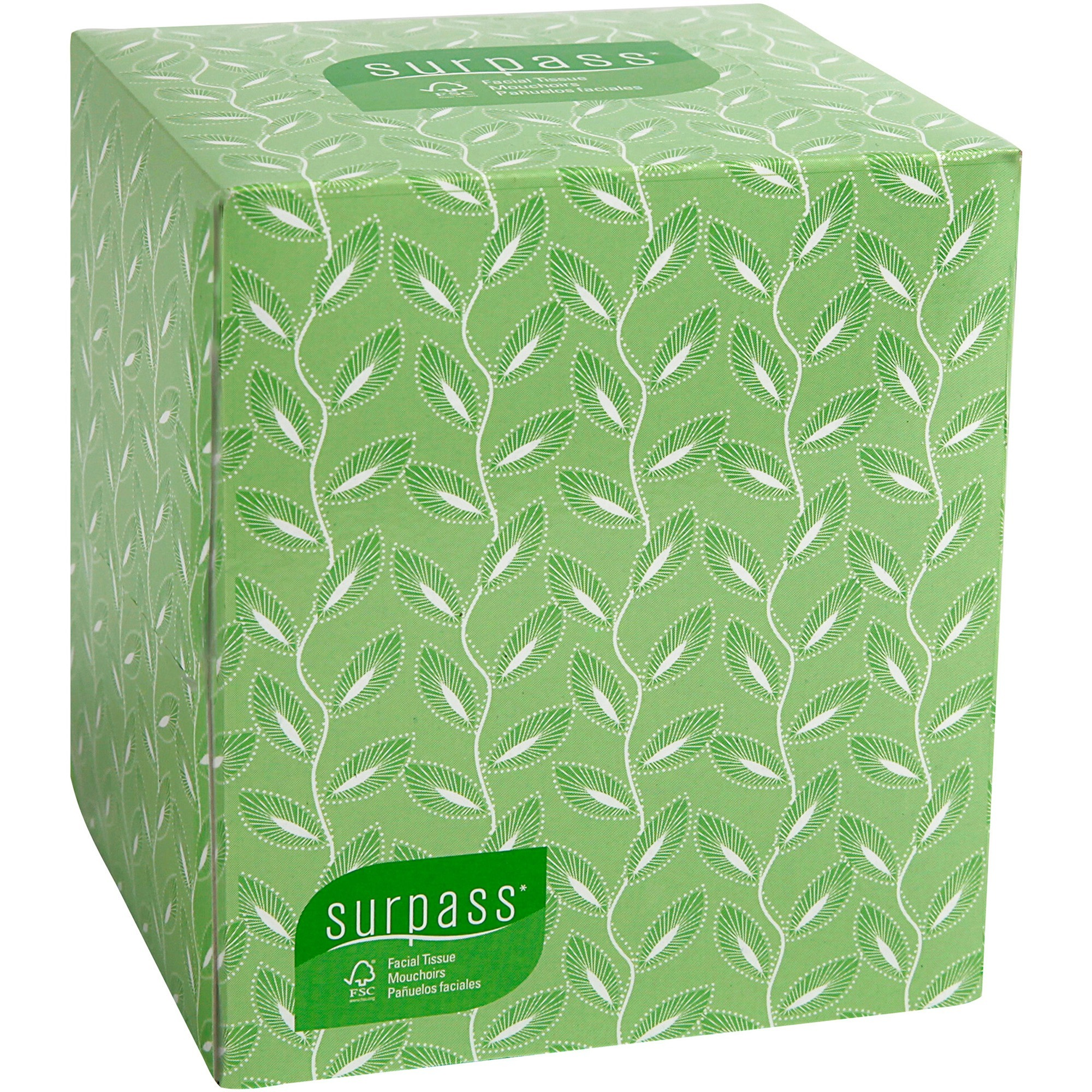 Kleenex, KCC21320, Surpass Boutique Facial Tissue, 36 / Carton, White