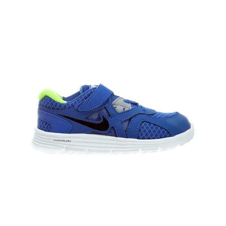 Nike Lunarglide 3 Mega Blue/Black-White-Wolf Grey 454571-401 Toddler Size 4.5C