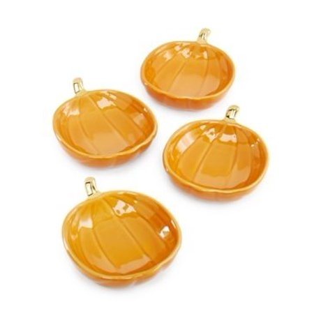 Martha Stewart Pumpkin Salt Cellar bowls set of 4 - Martha Stewart Halloween Treat Bags