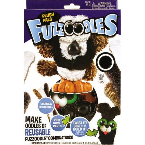 POOF-Slinky, Inc Fuzzoodles Plush Pals Set