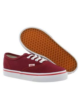 Vans Authentic Athletic Girl'S Shoe Size 10, Color: Rhubarb/White