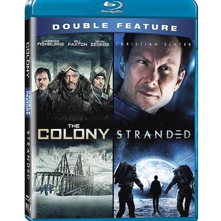 The Sci Fi Classics Double Feature  Stranded   The Colony  Blu Ray   Widescreen