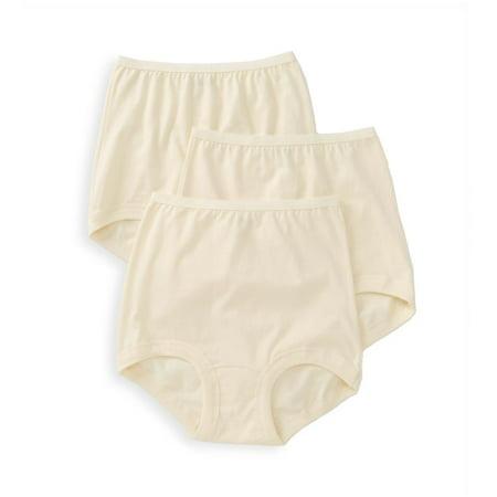 01f63bb548991c Vanity Fair - Women's Vanity Fair 15367 Lollipop Legband Brief Panties - 3  Pack - Walmart.com