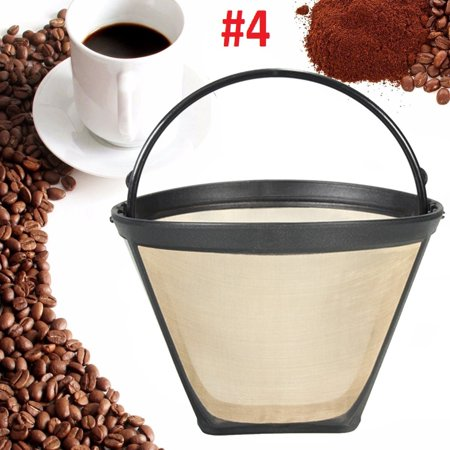 Premium Filters Direct Reusable Coffee Filters fits Cuisinart, Black & Decker Cone Shaped. Cone (Shaped Coffee Filters)