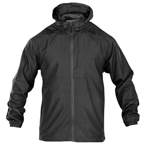 5.11 INC Men's Packable Operator Jacket, Small, Black