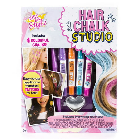 Just My Style Hair Chalk Studio, 1 Each - Children's Christmas Crafts