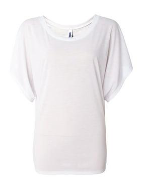 T-Shirts Women's Flowy Draped Sleeve Dolman Tee