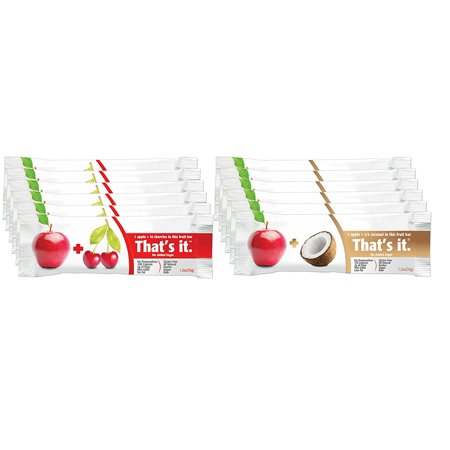 That's It Bar- Variety Pack 2 Flavors- ( Pack of 12