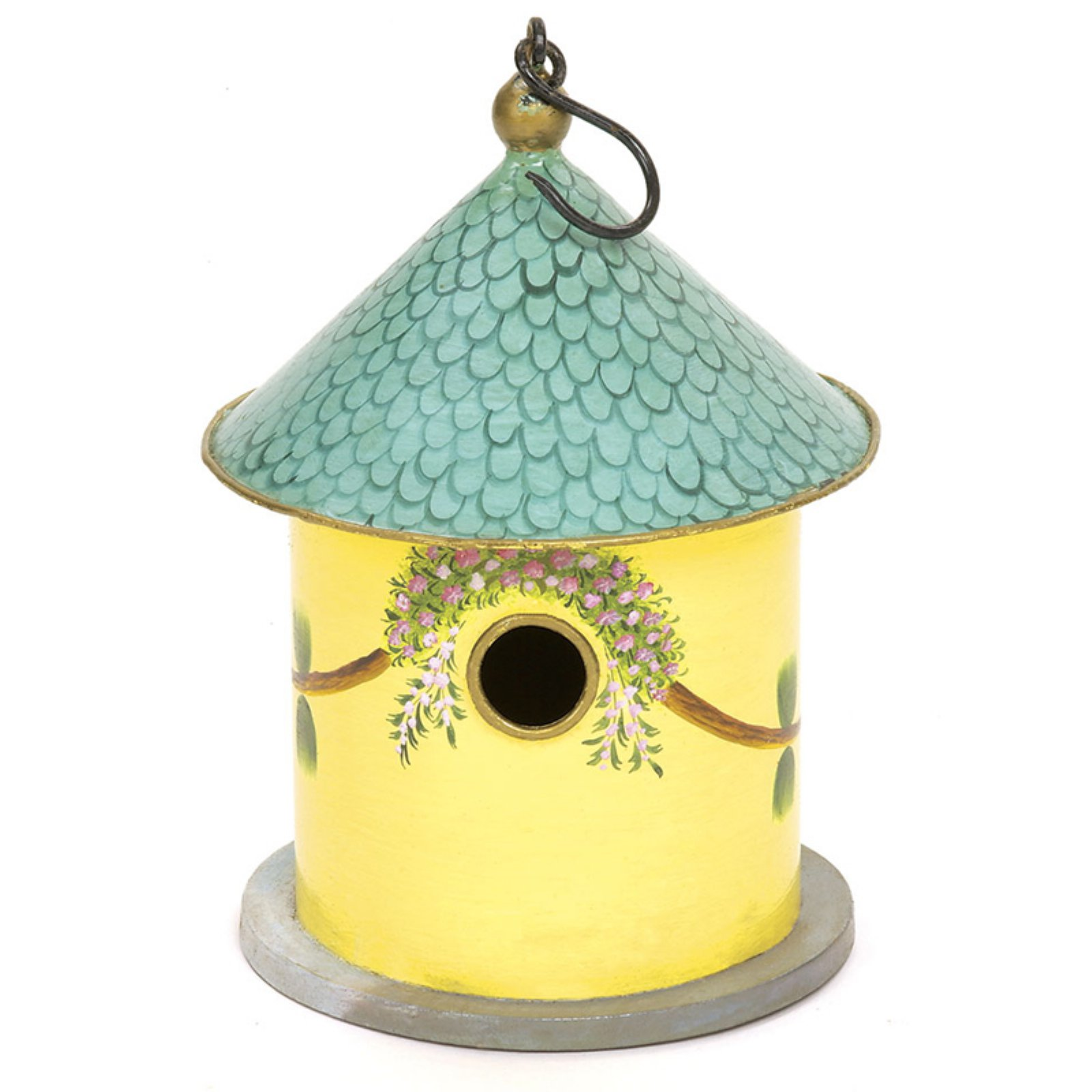 Achla Designs Bastion Handpainted Decorative Birdhouse by Bird Houses