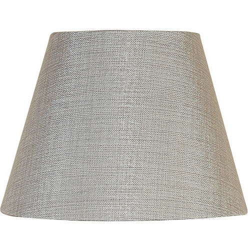 Better Homes and Gardens Textured Accent Lamp Shade, Silver