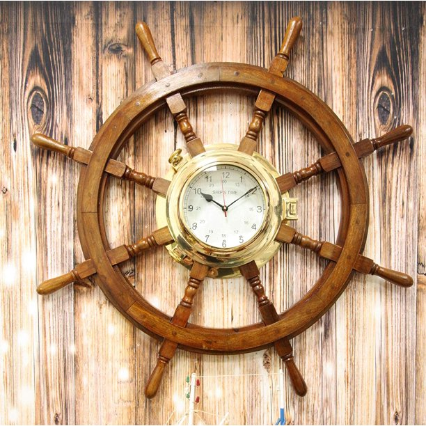 Nautical Vintage Rustic Wood